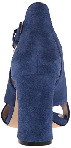 Scuro Vestito Camoscio Blu Sandalo Donne Boland Ovest Nove nA0xqwavB