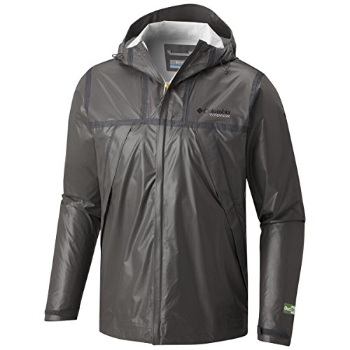 Columbia Titanium Outdry Ex Eco Shell Jacket - Men's Bamboo Charcoal, L
