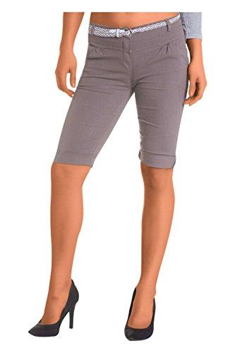 Damen Shorts, ( 454), Grösse:42 XL, Farbe:Braun