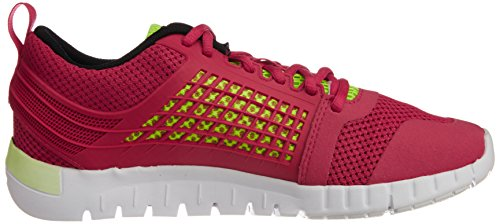 Reebok Zquick 2.0, Chaussures de running femme Rouge (Magenta Pop/Yellow/Black/Wht)