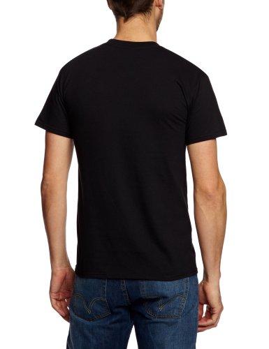 Plastic Head Herren T-Shirt Schwarz (Black)