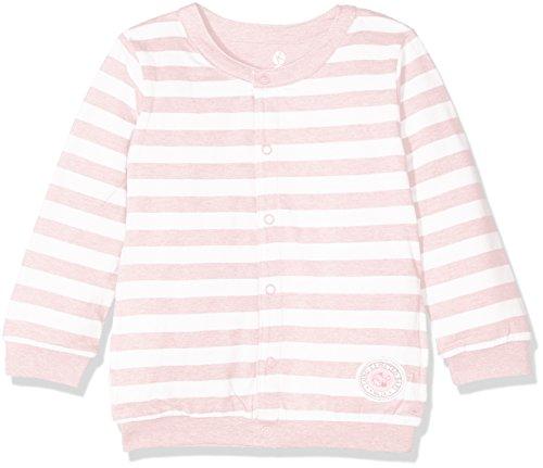 Kanz Unisex Strickjacke Wendejacke 1/1 Arm, Rosa (Parfait Pink Melange 8195), 80