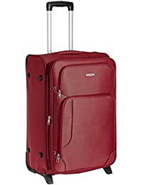 Aristocrat Turbo Polyester 46 cms Red Suitcase (STTURB74RED)