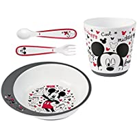 NUK Coffret de Vaisselle Mickey