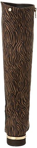 Xti - 28455, Stivali Da Equitazione da donna Multicolore (antelina cebra)