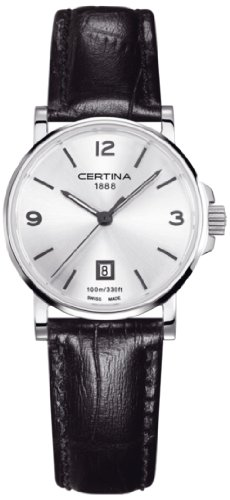 Certina Ladies 'Watch XS Analog Quartz Leather c017.210.16.037.00