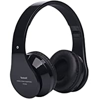 Pieghevole senza fili Bluetooth Stereo Headset subwoofer