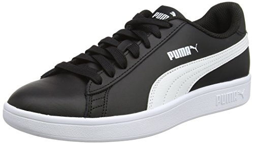 Puma Smash V2 L, Chaussures de Cross Mixte Adulte, Noir Black White, 38.5 EU
