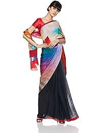 Satya By Satya Paul Saree (RD11618_00_crepe_Light Grey_Free Size)