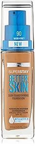 Maybelline New York Superstay Better Skin Foundation - Warm Honey
