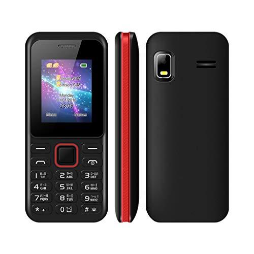 GSM Dual-Karte 2G Geeignet für ältere Menschen Handy Schwarz Rot Energie sparen Tragbares Telefon Gsm Quad-band-flash