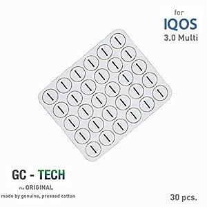 GC® Tech Original Oel-Absorptionskissen für IQOS Holder 3 Multi für sauberen Genuss und Schutz der Elektronik