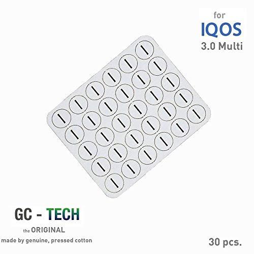 GC® Tech Original Oel-Absorptionskissen für IQOS Holder 3 Multi für sauberen Genuss und Schutz der Elektronik 30 Stück Aus Der Elektronik
