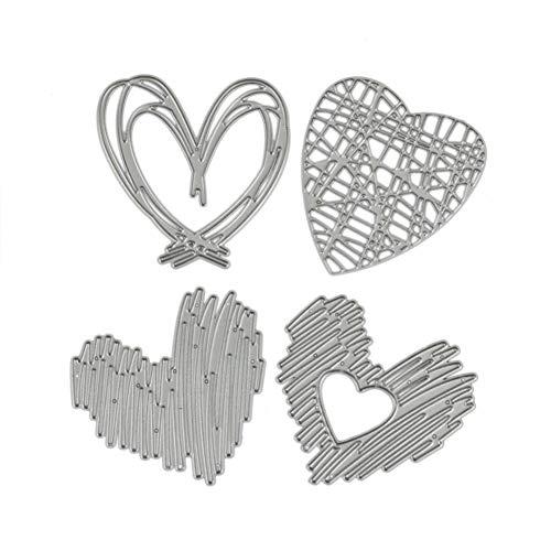 Presupuesto:Me encanta el diseño del corazón para decorar tus artesanías.Troqueles de corte delicados que están hechos de material de acero al carbono.La plantilla fina se puede utilizar en la mayoría de las máquinas troqueladoras.Herramienta de bric...