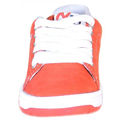 Naturino - Naturino Kinder Sport Schuhe Rot Leder Sport 493 Rot
