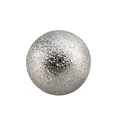 Diamant-Optik Silber Edelstahl 1,6 mm x 4 mm ()