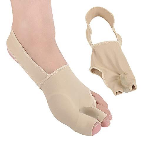 Fengbingl-hm Hallux Valgus Separator für große Zehen Daumen Valgus Corrector Toe Valgus große Fußknochen Korrektur mit Toe für Nacht- und Tageszeit (Größe : S)