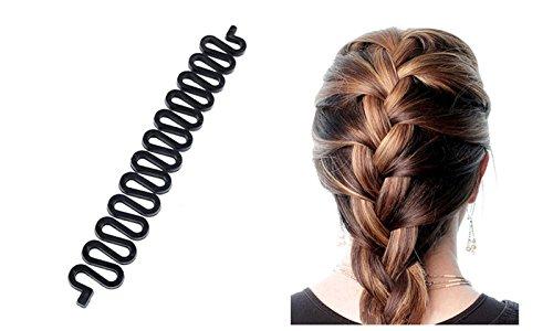 Homeoculture 3pcs Lot Women Fashion Hair Styling Clip Hair Braider