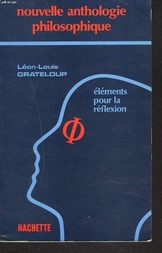 ANTHOLOGIE PHILOSOPHIQUE. Edition 1983