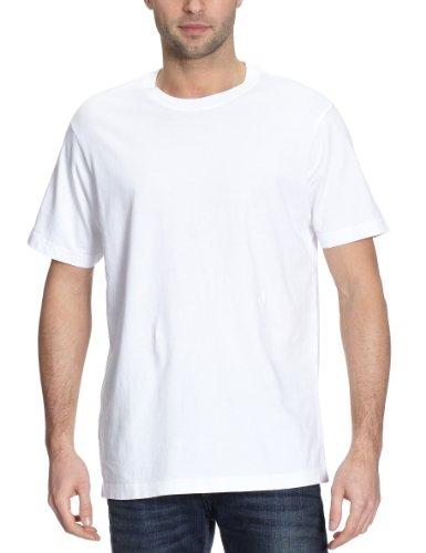 Eddie Bauer Herren Legend Wash Shirt - Kurzarm, Gr. L, Weiß - Bauer Kurzarm-shirt
