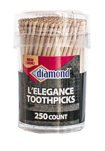Diamond L\'Elegance Zahnstocher, 250 Stück