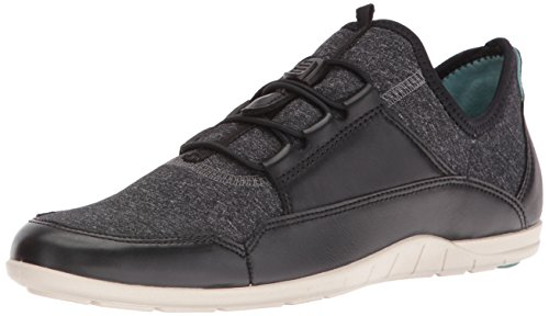 Ecco Womens Bluma Sport Toggle Black/Black White/Black