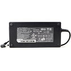 AC Adaptateur secteur pourMSI GE62 GE72 GL62M GL72 GP62M GP72chargeur ordinateur portable, adaptateur, alimentation(avec garantie 12 mois et câble d'alimentation européen)