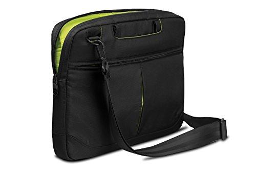 Be.ez Le Swift Schwarz Wasabi - Tasche für MacBook Pro 13 / MacBook Pro Retina 15 Schwarz, Wasabi