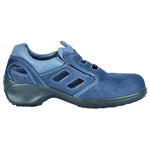 Chaussures De Sécurité Cofra Eloisa S1 P Bleu
