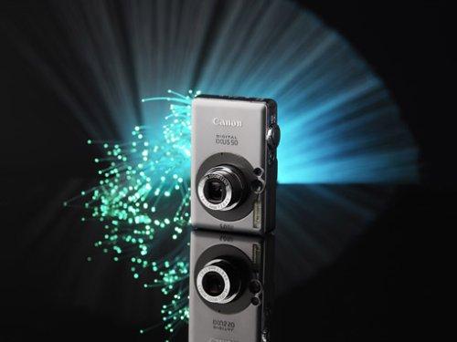 Canon Digital IXUS 50 Digitalkamera (5 Megapixel)