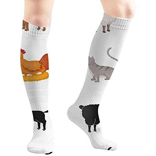 joy edward allevamento cucina simbolo animali agricoltura alimenti e bevande sport calze a compressione, calze sportive, calze tubolari