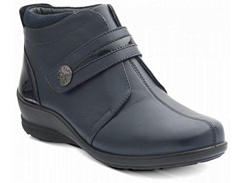 Padders - Pantofole a Stivaletto donna Blu (Blu)