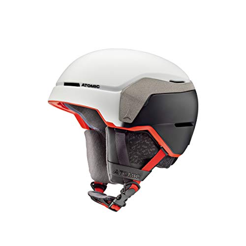 Atomic count xtd, casco da sci all-mountain unisex - adulto, bianco, m