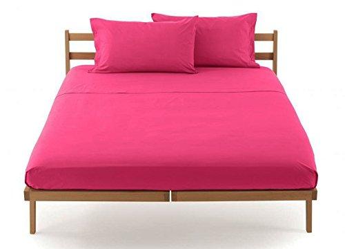 Lenzuolo sotto con angoli zucchi clic clac percalle di puro cotone letto singolo una piazza cm 90 x 200 100% made in italy (cilamino - 3128)