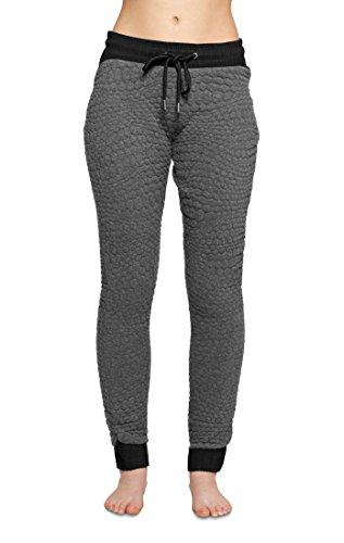 OnePiece - P-PA15006, Pantaloni sportivi Donna, Grigio (Dark Grey Mel), XS (Taglia Produttore: XS)