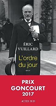 L'ordre du jour - Prix Goncourt
