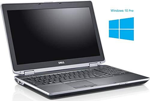 Dell Latitude E6530 Notebook / Laptop | 15.6 Zoll Display | Intel Core i5-3340M @ 2,7 GHz | 4GB DDR3 RAM | 500GB HDD | DVD-ROM | Windows 10 Pro vorinstalliert (Zertifiziert und Generalüberholt)