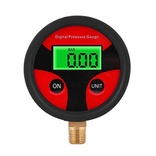 0-200PSI Medidor de presión de neumáticos para automóviles Medidor de presión de aire de neumáticos...
