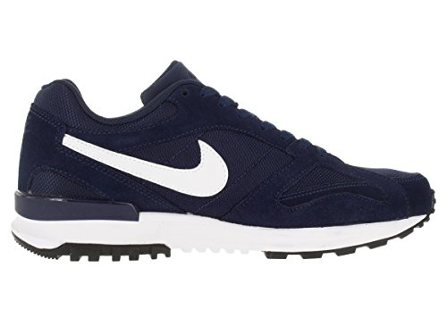 Nike Herren Air Pegasus New Racer Trainingsschuhe Multicolore - Azul / Blanco (Midnight Navy/White-White)