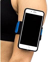 Quad Lock Uni Run Kit-Iphone 6+/6S+ Halterungen, Schwarz