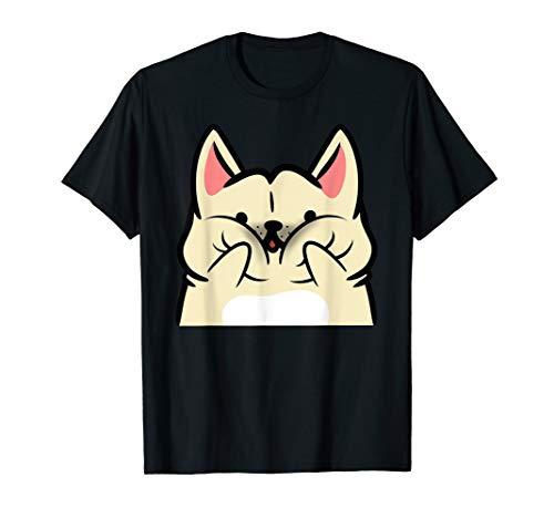 Squishy Cheeks Creme Französische Bulldogge Geschenk  T-Shirt -