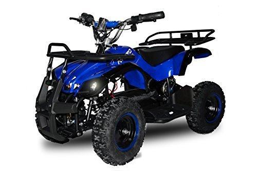 "49cc Torino 6"" E-Start Miniquad Atv Kinderquad Cross Quad Mini (Blau)"