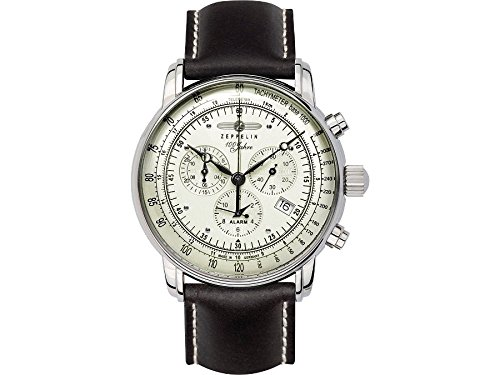 Zeppelin Mens Watch Serie 100 Jahre Zeppelin Chronograph 8680-3