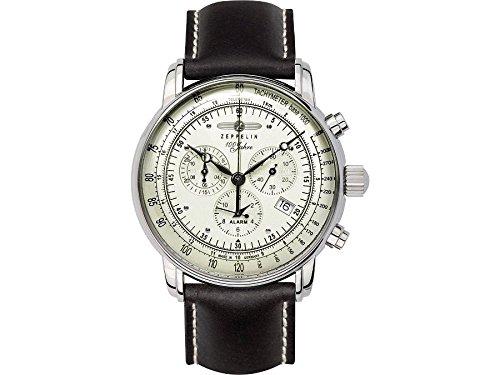 Zeppelin Mens Watch Serie 100 Jahre Zeppelin Chronograph 8680-3