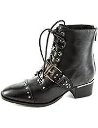 Womens Tex-Chunky Oxfords, Black, 8.5 UK Bronx