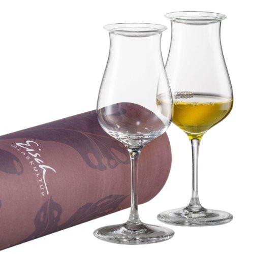 Eisch 251.409.00 Malt-Whisky-Set 514/900 in Geschenkröhre Jeunesse (Geblasen Glas Rohre)