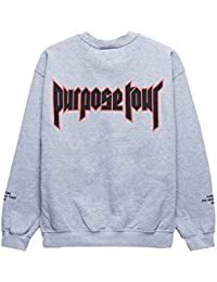 Purpose Tour ALL ACCESS sweatshirt - world tour Justin Bieber