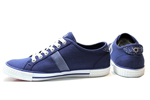 Trussardi Jeans 77S520 Marrone, Blu e Grigio Sneakers Uomo Scarpa Sportiva Grigio