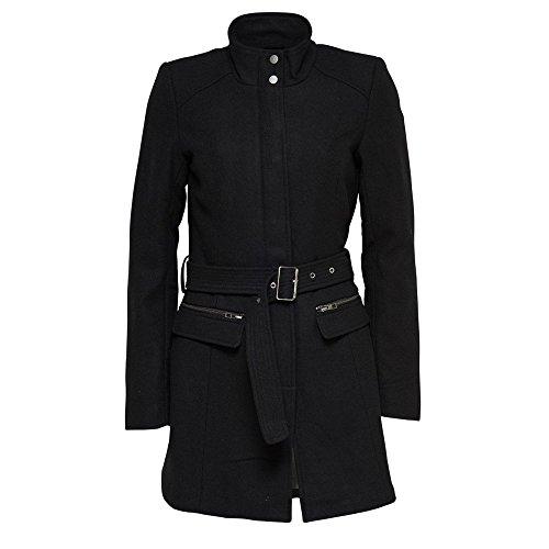 Only Damen Wollmantel Alanis Wool Coat OTW (XS, Black)