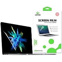 LENTION Protection écran Transparent pour MacBook Pro (15 Pouces, 2016-2019) A1707/A1990, Touch Bar, Film de Protection HD avec Un revêtement hydrophobe et oléophobe
